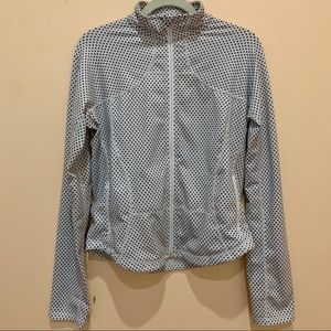 Lululemon Polka Dot ZIP Jacket